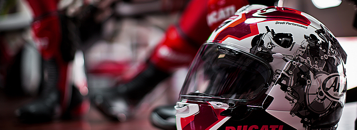 Ducati by ARAI promo