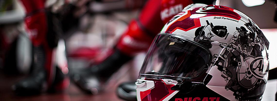 Ducati by ARAI promo