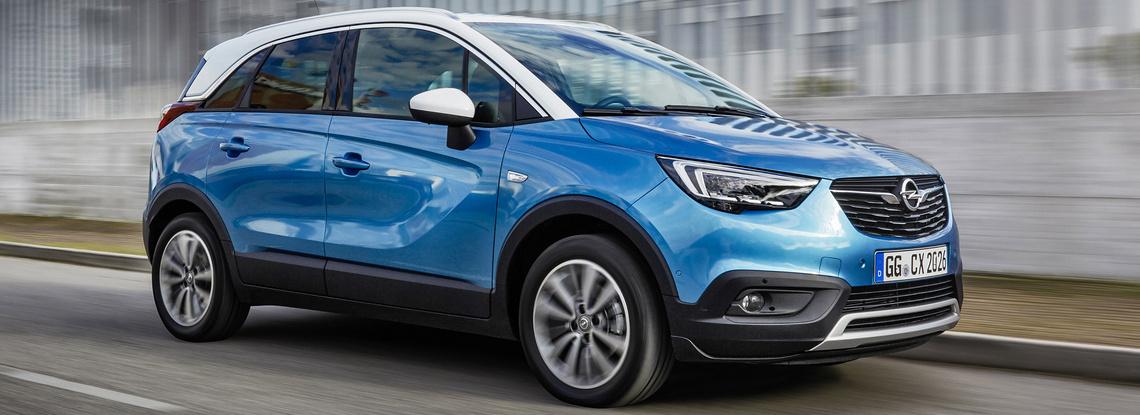 Opel Crossland X GPL Tre Quarti