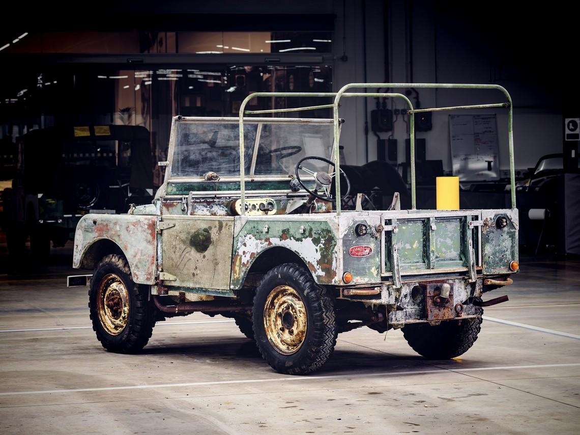 Land Rover Originale Dietro