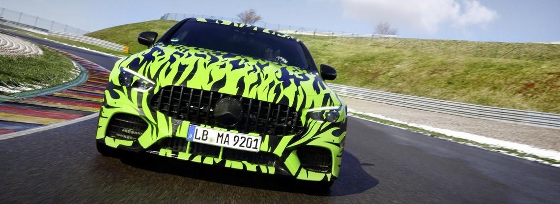 AMG GT 4 Porte Teaser