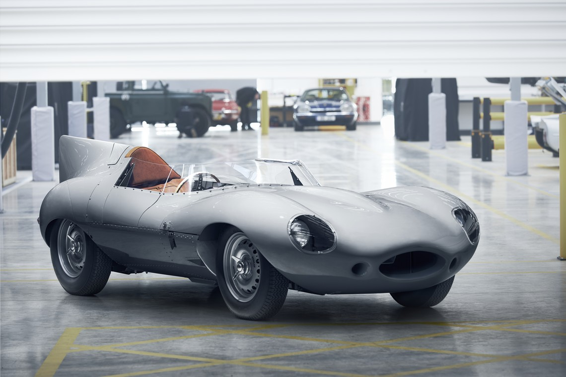 Jaguar D-Type Tre Quarti