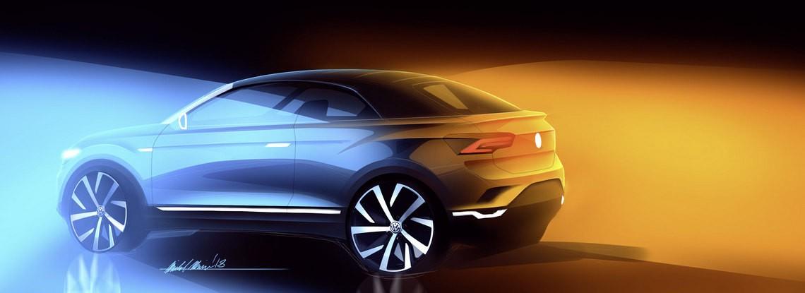 Volkswagen T-Roc Cabriolet Sketch