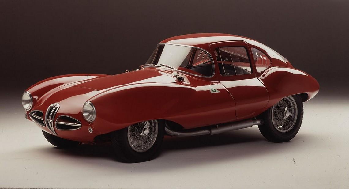 Alfa Romeo Disco Volante Tre Quarti