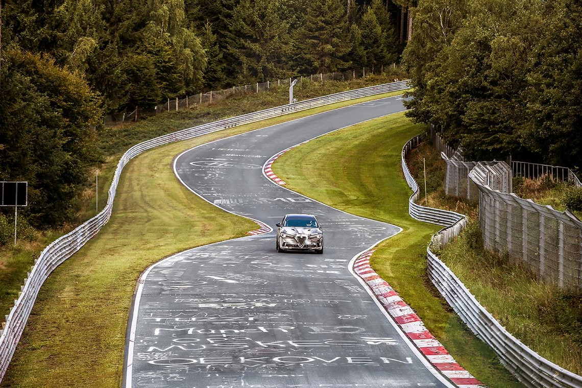 Alfa Romeo Stelvio Quadrifoglio Record