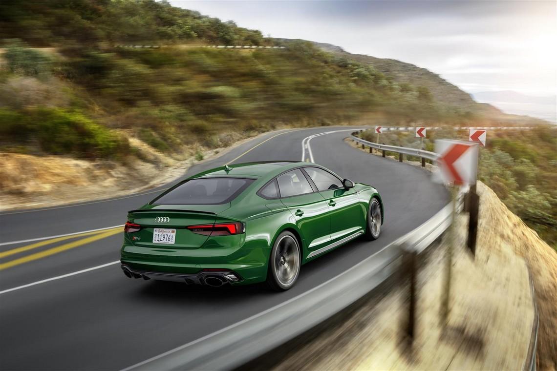 Audi RS-5 Sportback Dietro