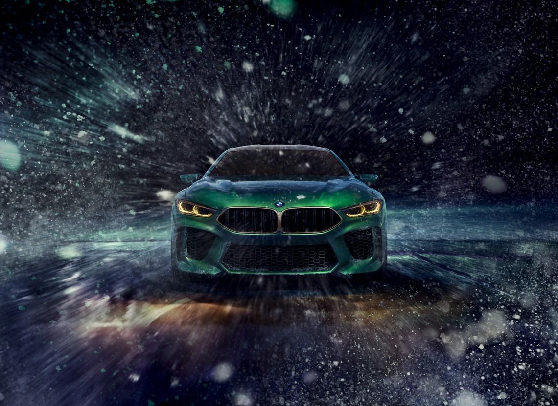 BMW M8 Gran Coupe Concept Davanti