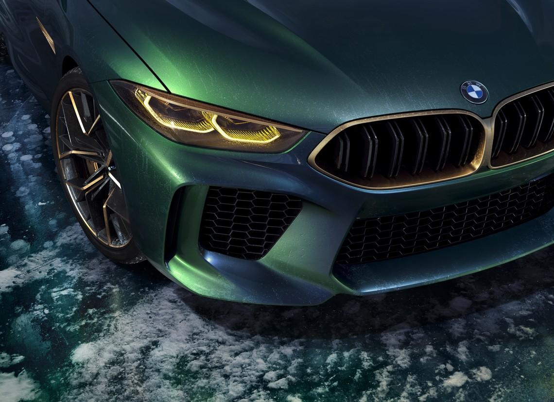 BMW M8 Gran Coupe Concept Fanale