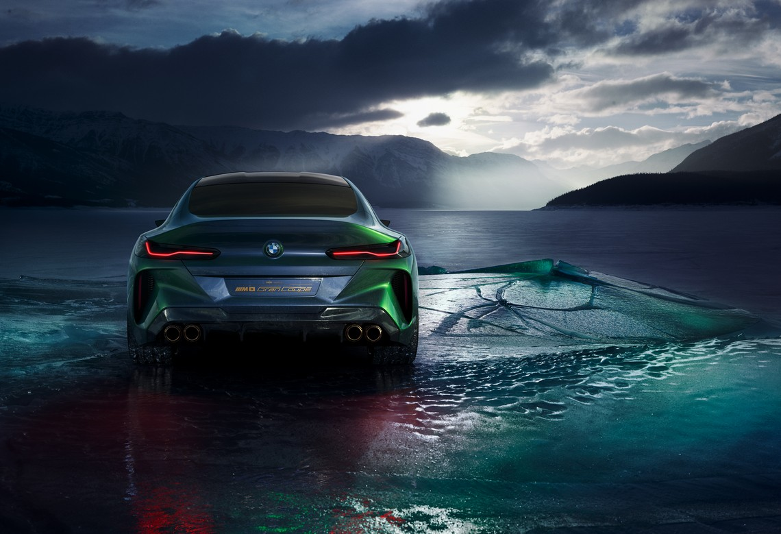 BMW M8 Gran Coupe Concept Dietro