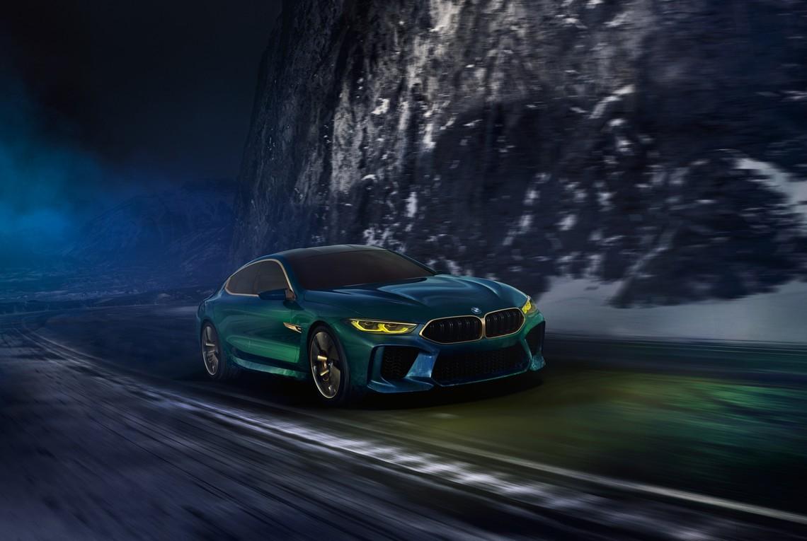 BMW M8 Gran Coupe Concept Davanti Dinamica