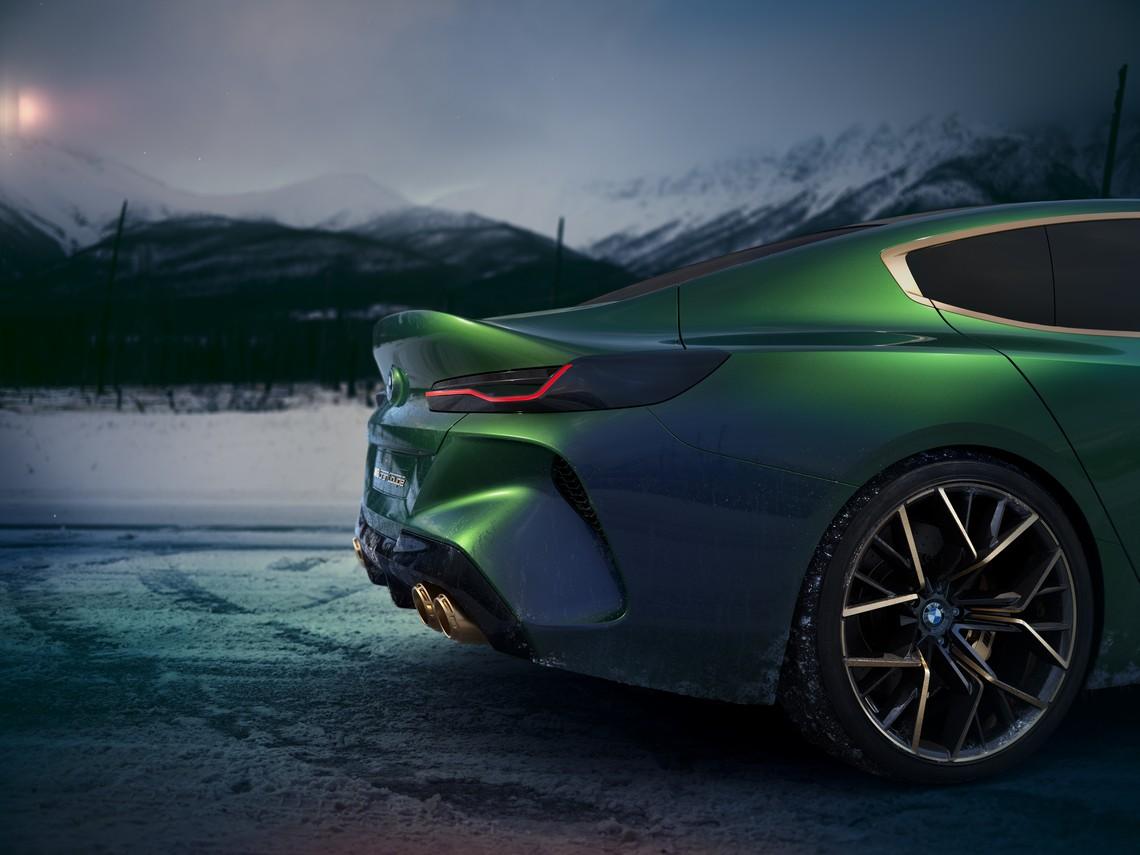 BMW M8 Gran Coupe Concept Dettaglio