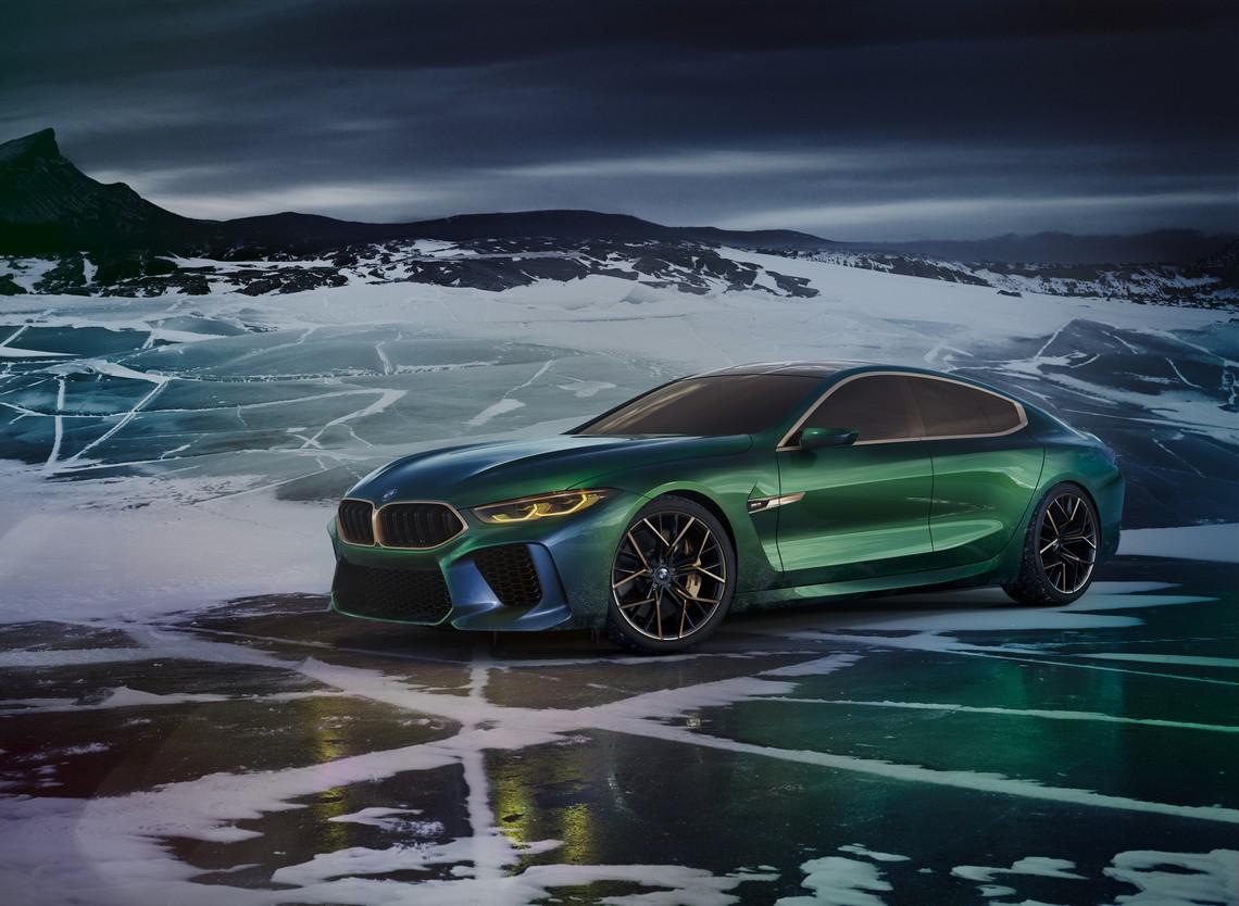 BMW M8 Gran Coupe Concept Tre Quarti