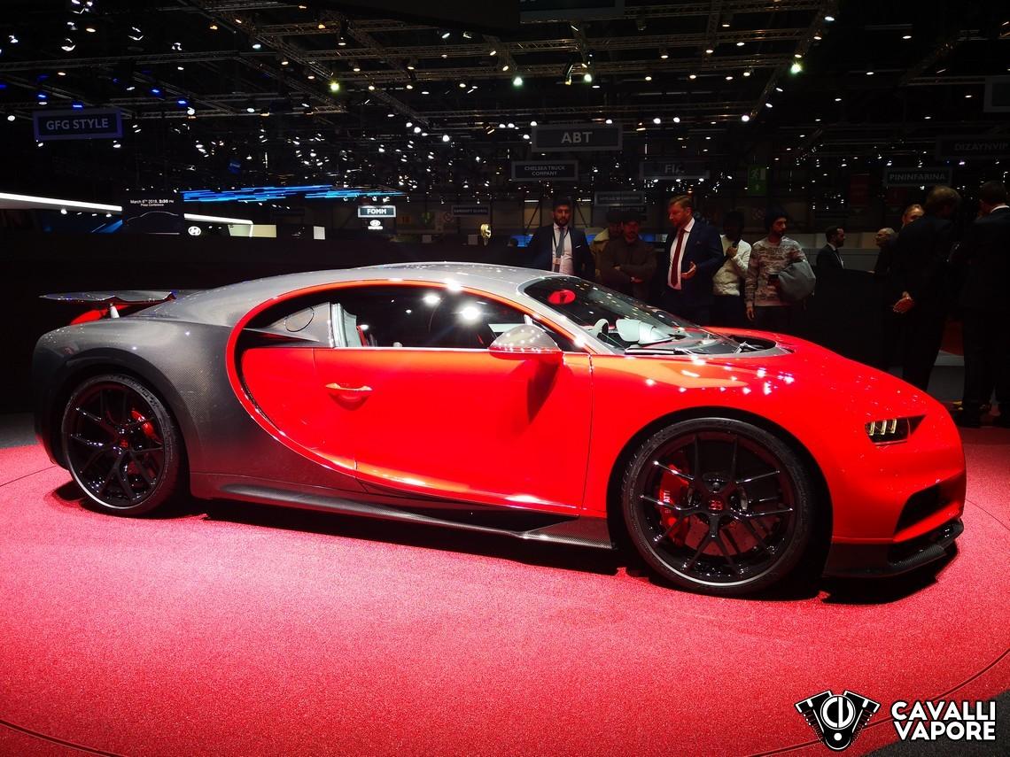Bugatti Chiron Sport GIMS Lato