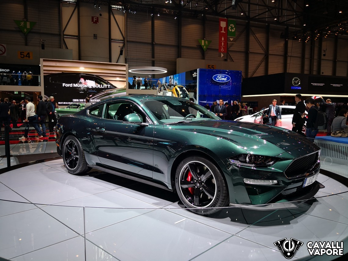 Ford Mustang Bullitt Limited Edition GIMS Tre Quarti