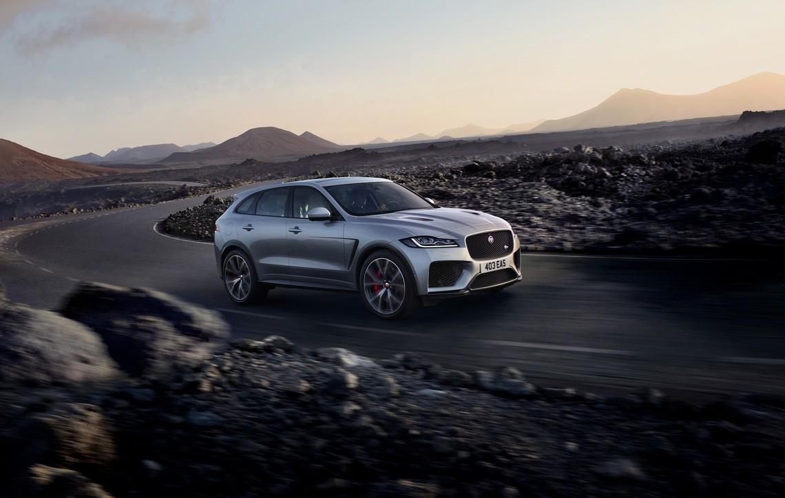 Jaguar F-Pace SVR Lato
