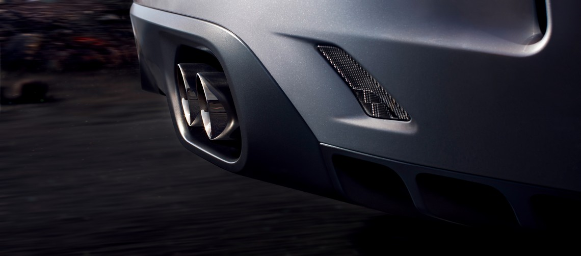 Jaguar F-Pace SVR Scarico