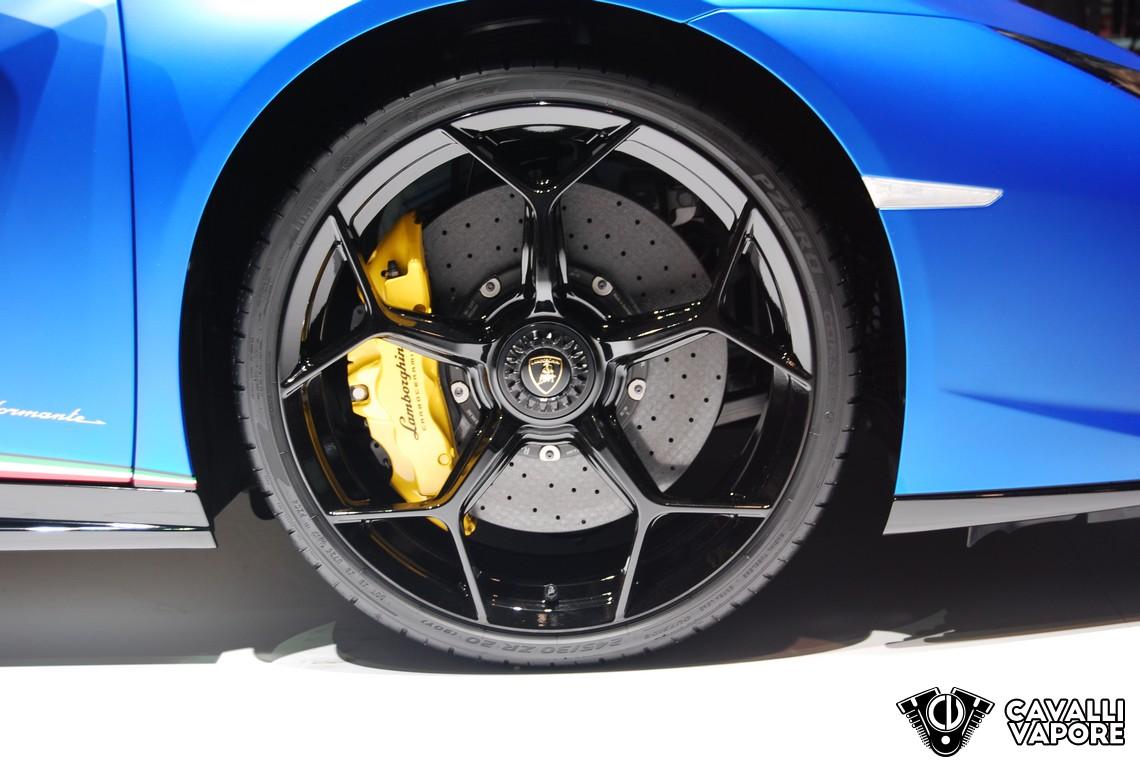 Lamborghini Huracan Performante Spyder GIMS 2018 Cerchione