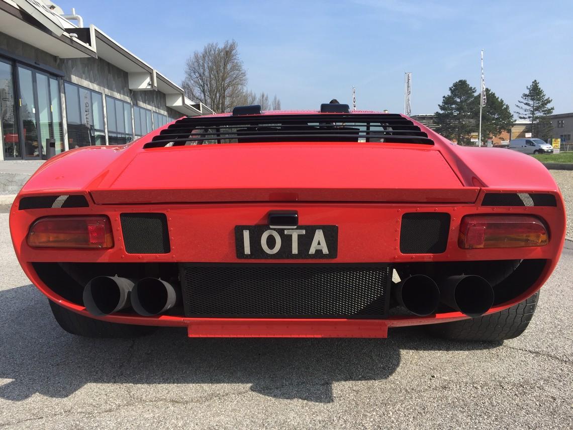 Lamborghini Miura Jota Dietro