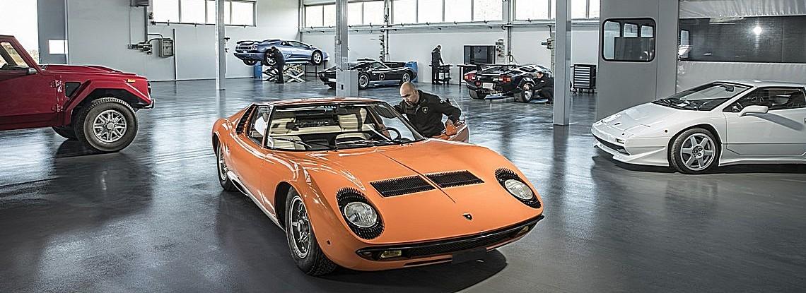 Lamborghini Polo Storico Carrellata