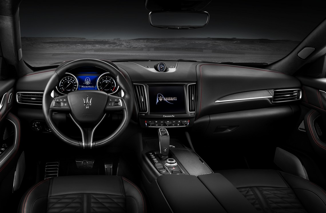 Maserati Levante Trofeo Interni