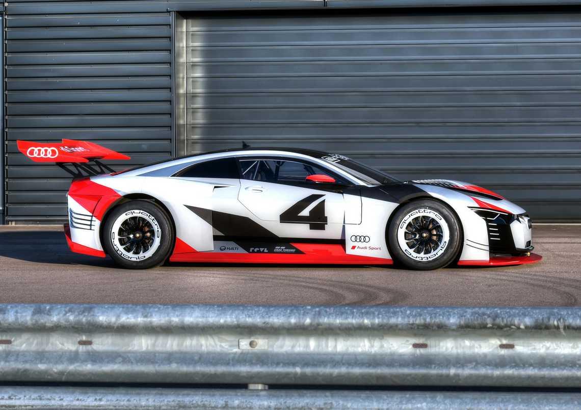 Audi e-tron Vision Gran Turismo Lato Box