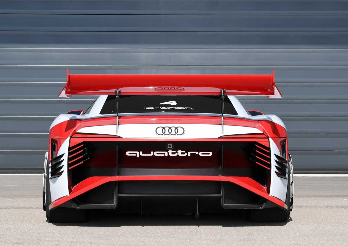 Audi e-tron Vision Gran Turismo Dietro