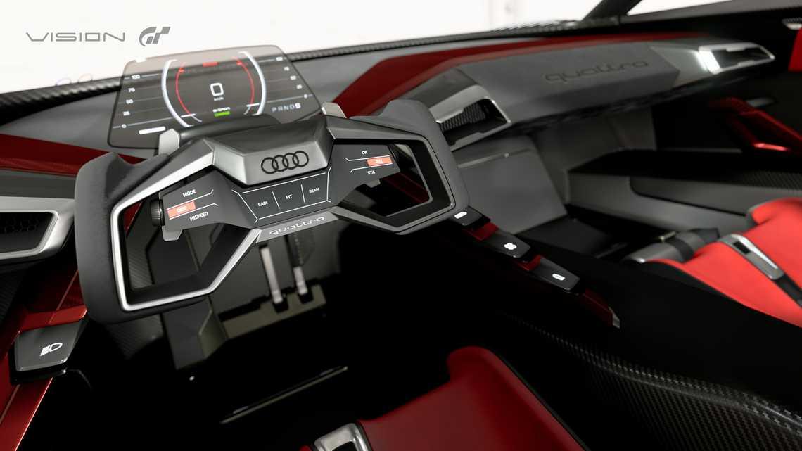Audi e-tron Vision Gran Turismo Interni