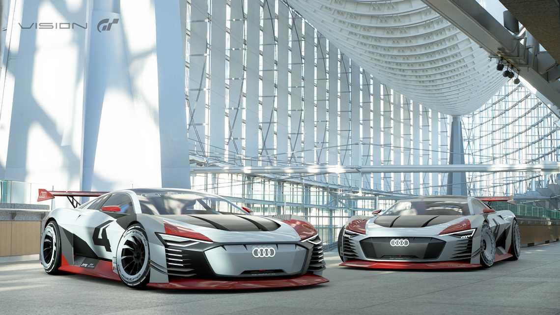Audi e-tron Vision Gran Turismo Play Station