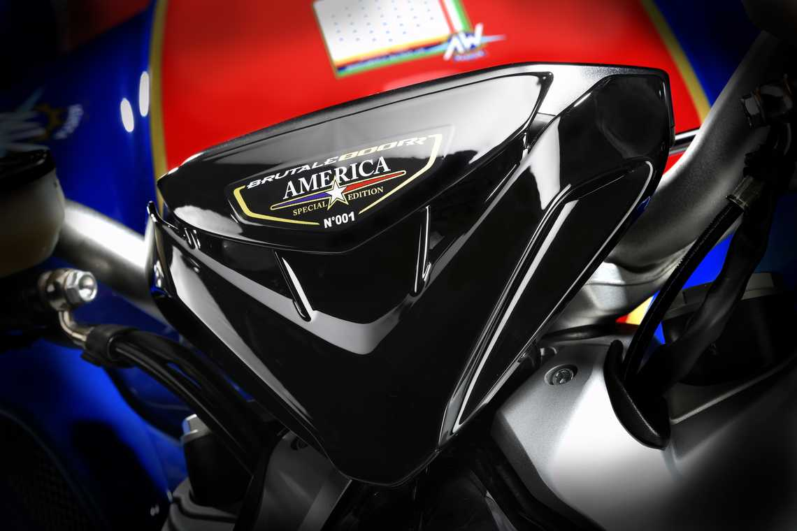 MV Agusta Brutale 800 RR America Badge