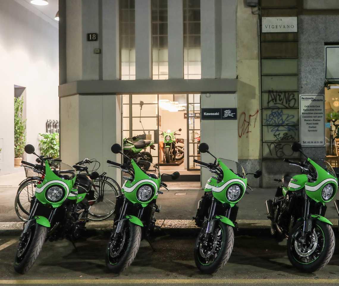 Kawasaki True Spirit Studio 8