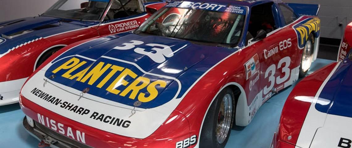 Paul Newman Race Car Nissan