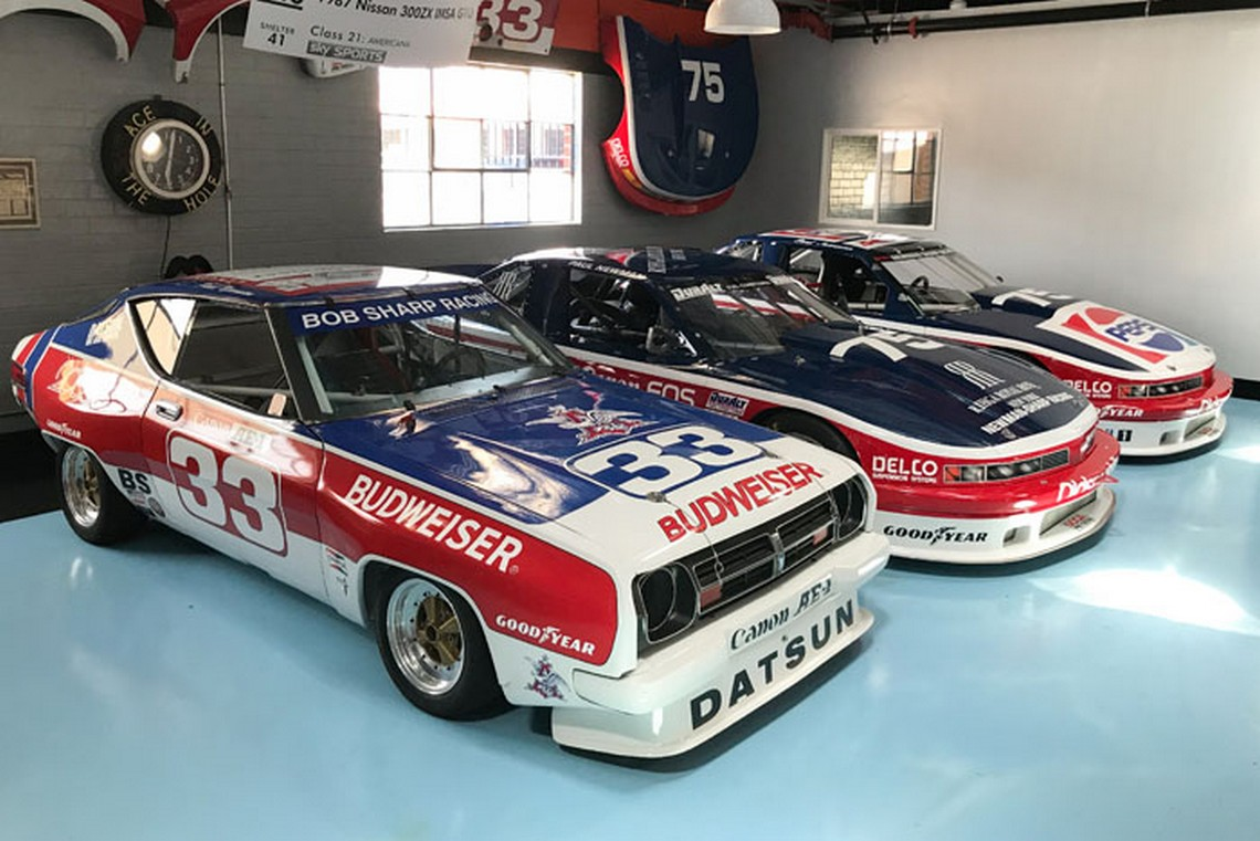Paul Newman Race Car Datsun