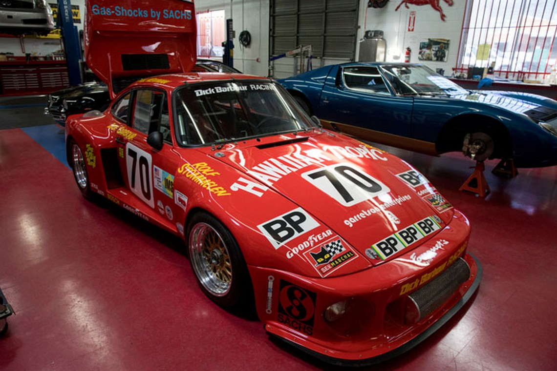 Paul Newman Race Car Porsche 935