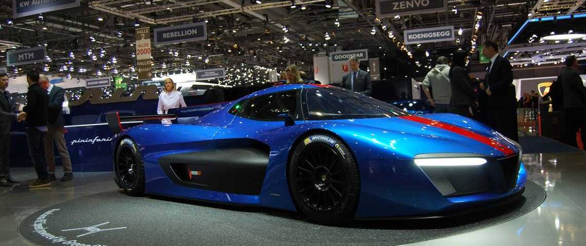 Pininfarina H2 Speed Tre Quarti