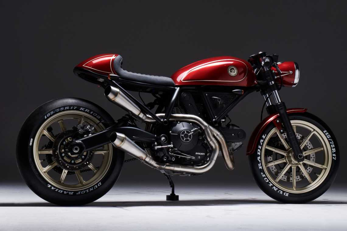 Scrambler Custom Rumble Aree ESG Rumble 400