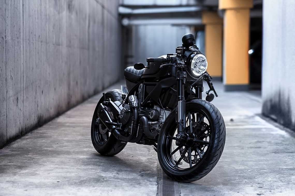 Scrambler Custom Rumble Aree The Batass