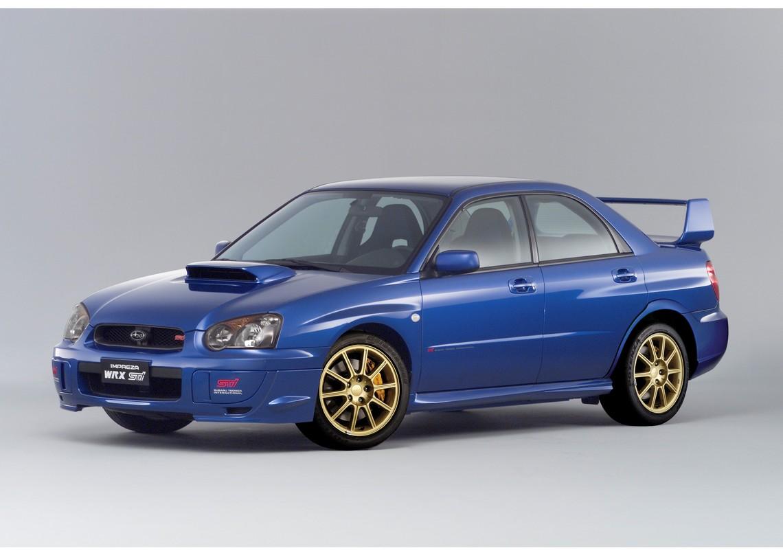 Subaru Impreza STI 2004