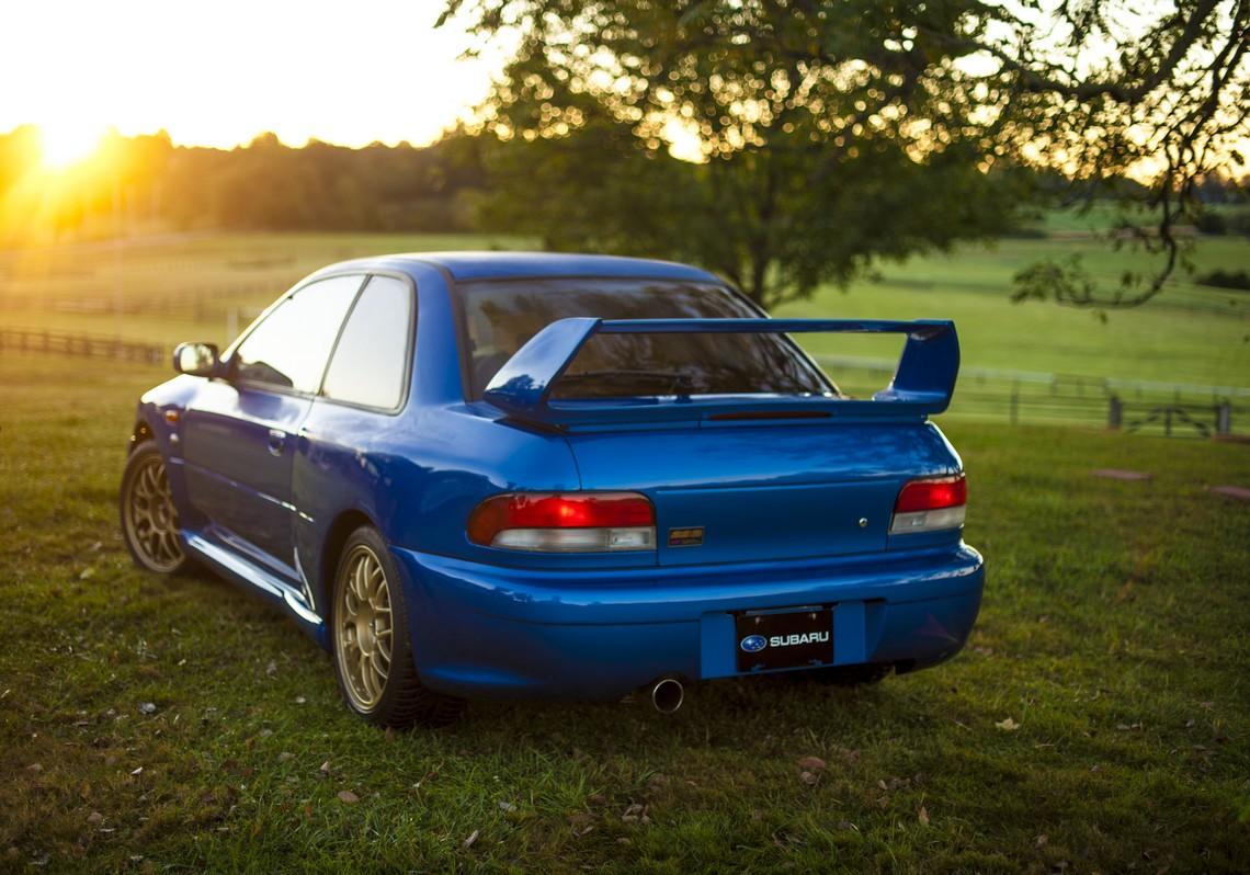 Subaru Impreza WRX 22b STI Dietro