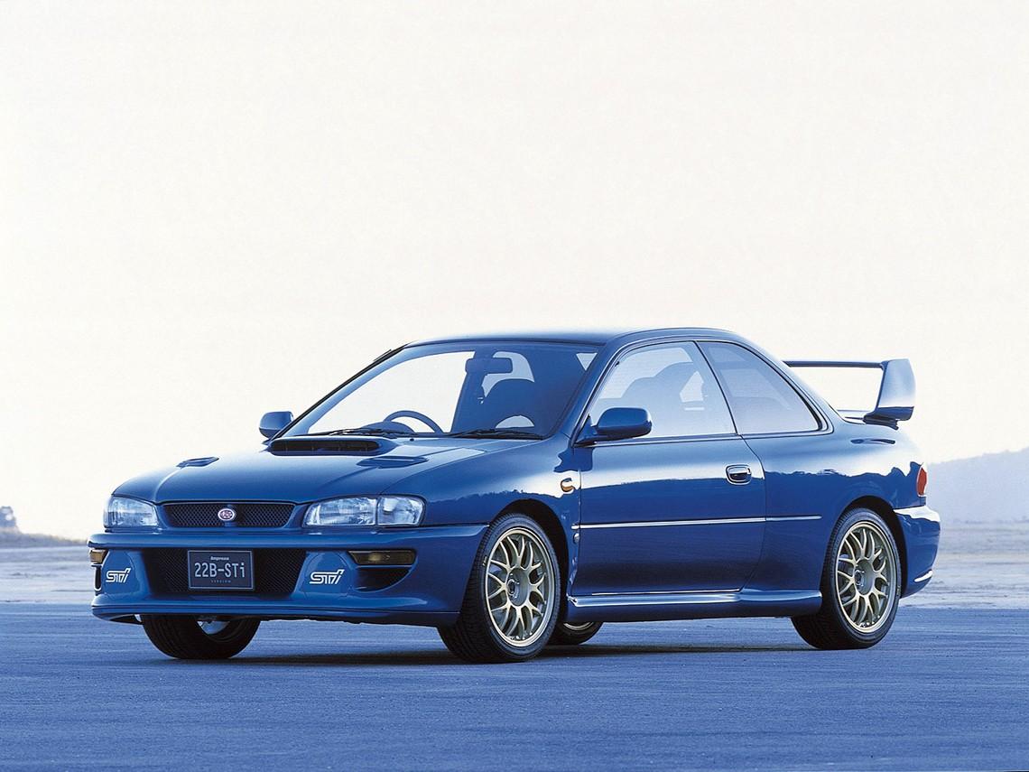 Subaru Impreza WRX 22b STI