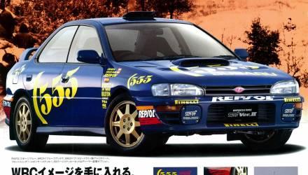 Subaru Pubblicità STI