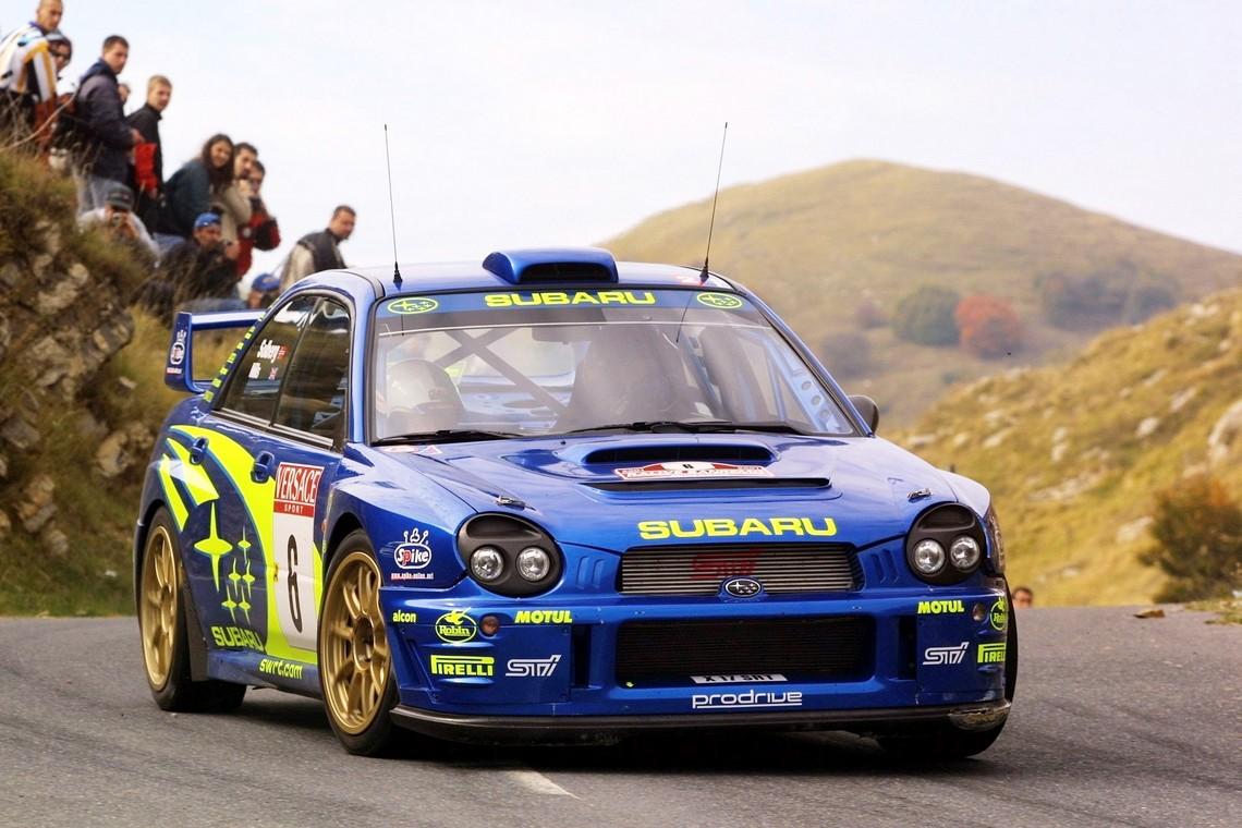 Subaru WRC 2001