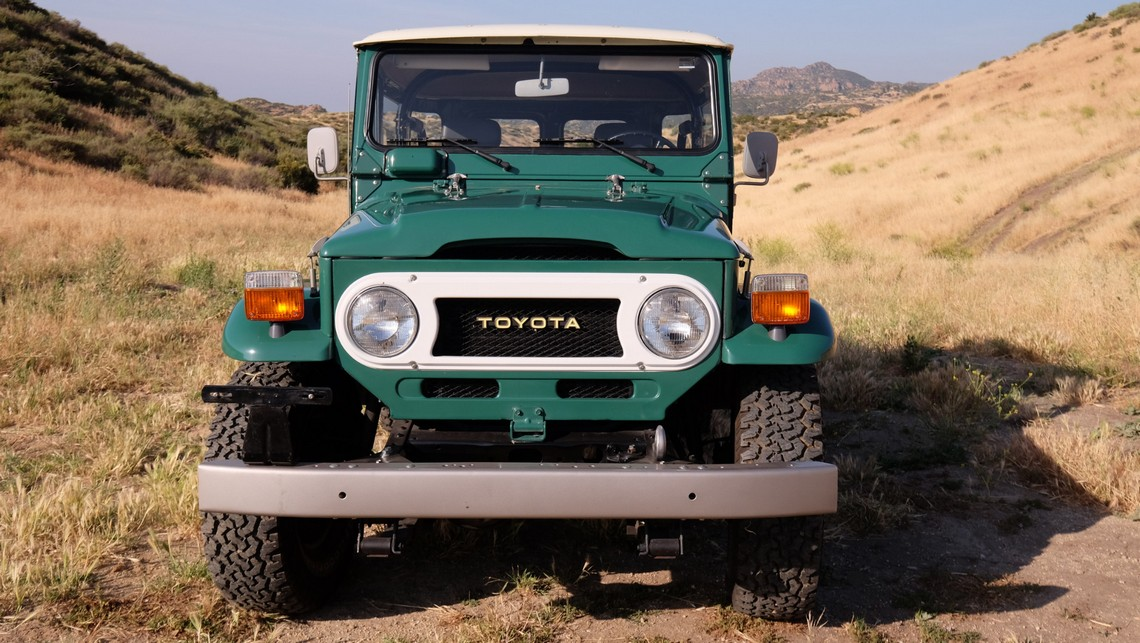 Toyota Land Cruiser FJ40 1978 Davanti