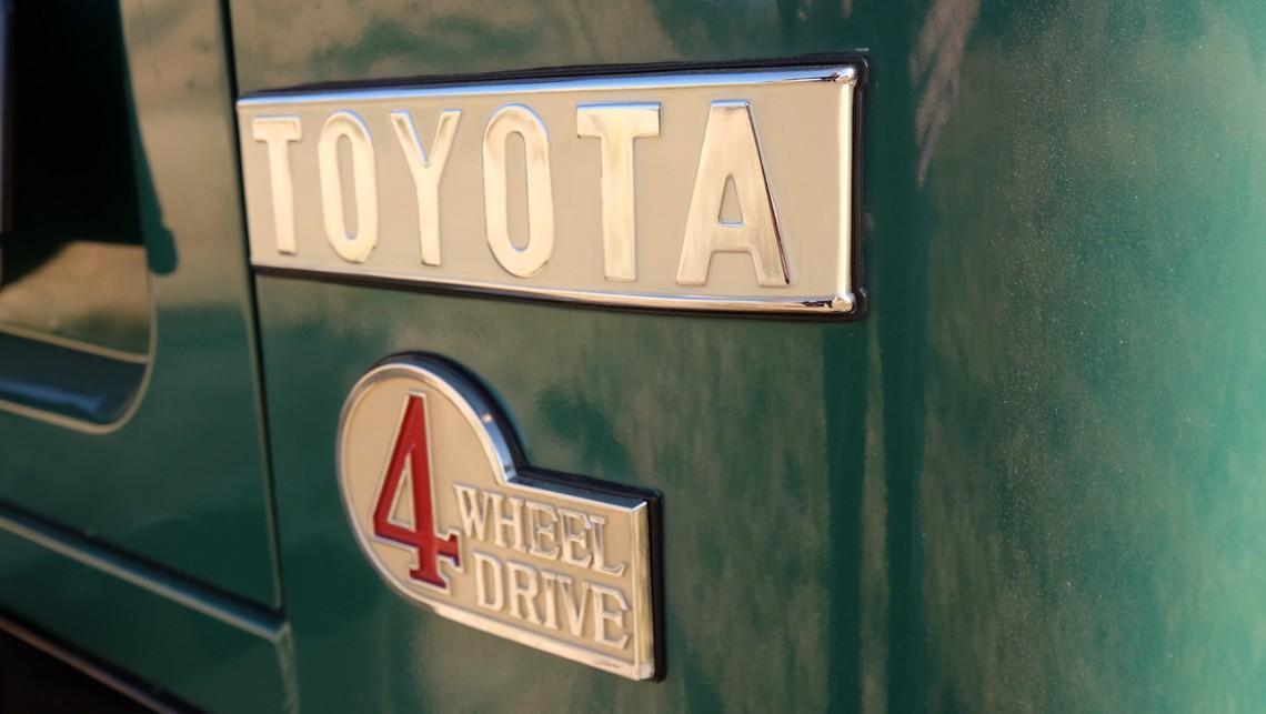 Toyota Land Cruiser FJ40 1978 Logo