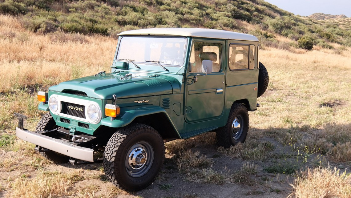 Toyota Land Cruiser FJ40 1978 Tre Quarti