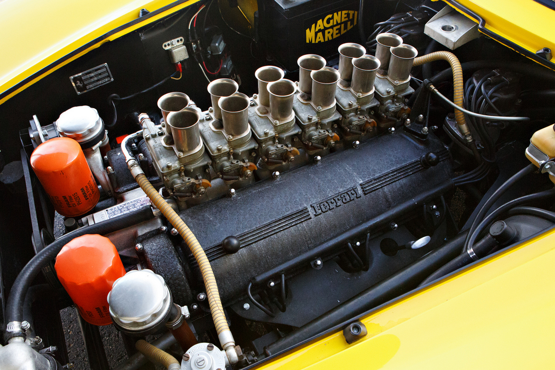 Ferrari 275 GTB Monte Carlo 1964 Motore V12