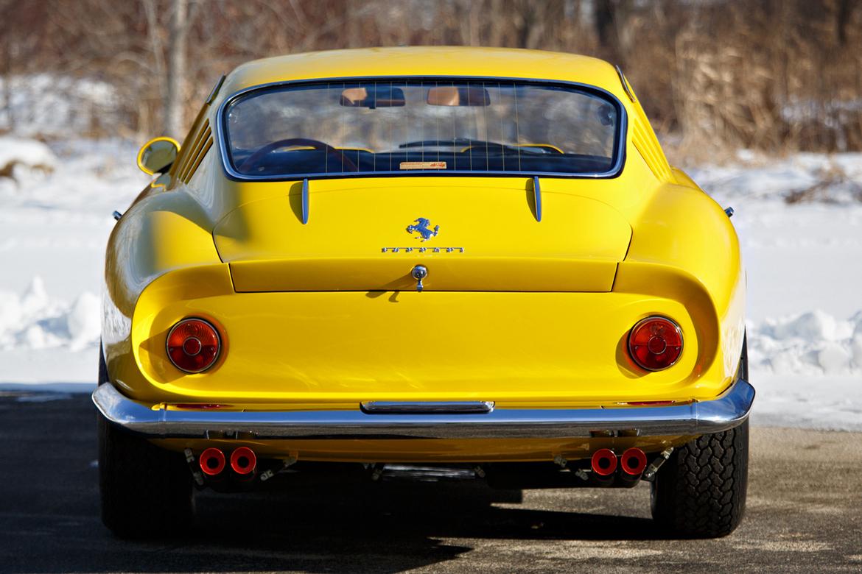 Ferrari 275 GTB Monte Carlo 1964 Retro