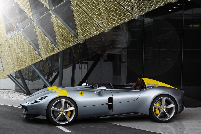 Ferrari Monza SP1 Lato