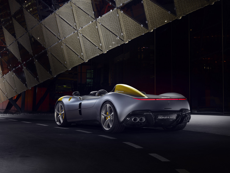 Ferrari Monza SP1 Tre Quarti Posteriore
