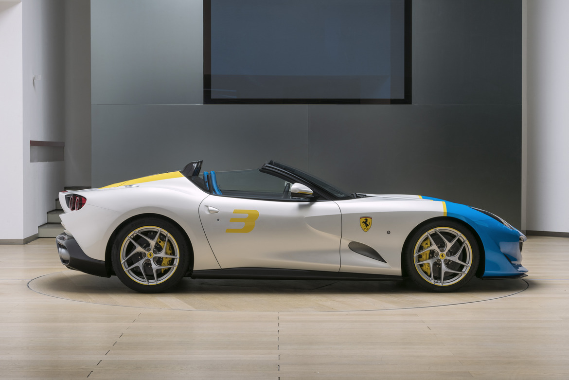 Ferrari SP3JC Lato