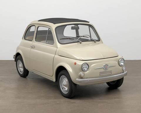 Fiat 500 F MoMA